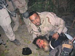 دستگیری صدام